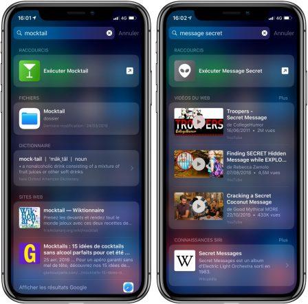 """9 fonctions pratiques cachées dans le moteur de recherche """"Spotlight"""" de l'iPhone ou de l'iPad (Màj) 9"""