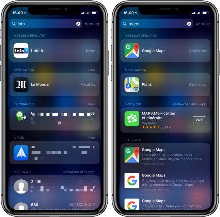"""9 fonctions pratiques cachées dans le moteur de recherche """"Spotlight"""" de l'iPhone ou de l'iPad (Màj) 8"""