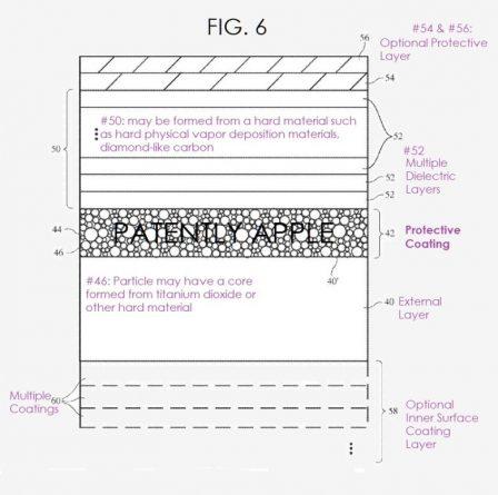 Un iPhone résistant aux rayures, grâce à des micro particules 2