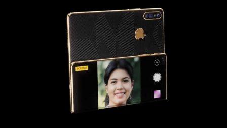 Concept: l'iPhone Z pliable en trois parties qui se déplie pour devenir iPad 2