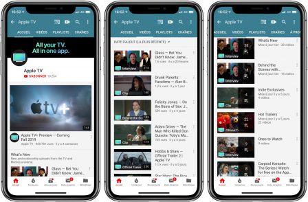 Apple a ouvert une chaine YouTube dédiée à son service de vidéo 2