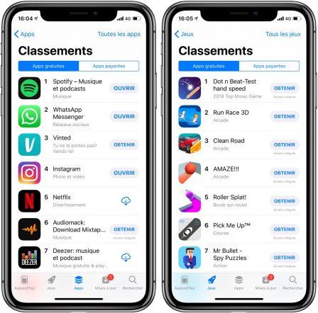 App Store: les nouvelles apps n'attirent plus autant qu'avant 2