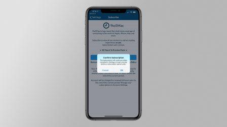 Une confirmation lors des abonnements dans les apps ajoutée par Apple sur iPhone et iPad 2