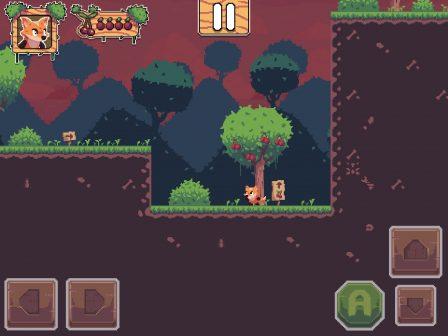 Test Foxyland 2: belle aventure de plateforme 2D rétro, en solo ou à 2 sur iPhone et iPad 3