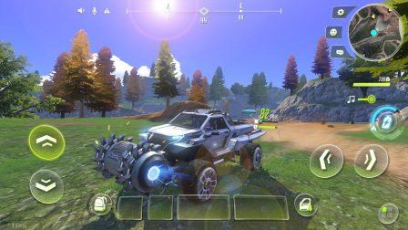 Cyber Hunter:  nouveau jeu de Battle Royale massivement multijoueur avec parkour et véhicules transformables 8
