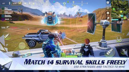 Cyber Hunter:  nouveau jeu de Battle Royale massivement multijoueur avec parkour et véhicules transformables 6
