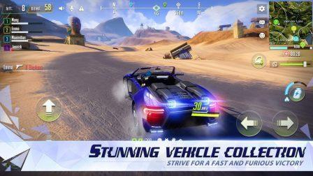 Cyber Hunter:  nouveau jeu de Battle Royale massivement multijoueur avec parkour et véhicules transformables 7