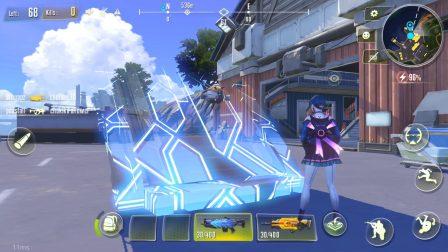Cyber Hunter:  nouveau jeu de Battle Royale massivement multijoueur avec parkour et véhicules transformables 5