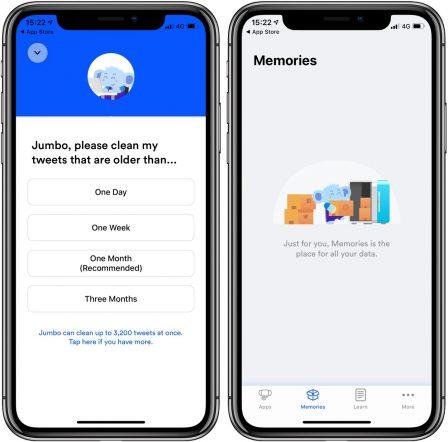 Nouveau: l'app iPhone Jumbo rend vos partages sociaux evanescents! 2