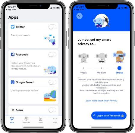Nouveau: l'app iPhone Jumbo rend vos partages sociaux evanescents! 3