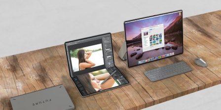 Entre le Mac et l'iPad, un concept d'hybride pliable étonnant, avec souris 2