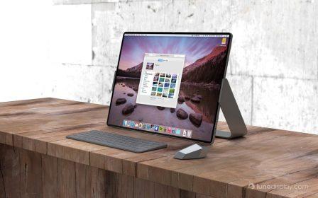 Entre le Mac et l'iPad, un concept d'hybride pliable étonnant, avec souris 3