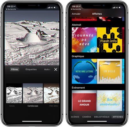 L'app Clips d'Apple enrichie d'un mode caméra rétro, de nouveaux stickers et plus 2