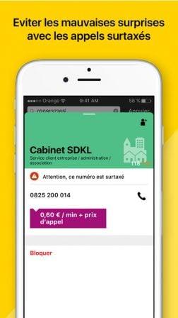 Pour éviter les appels indésirables sur iPhone: l'app Orange Téléphone (pas que pour les clients Orange!) 4