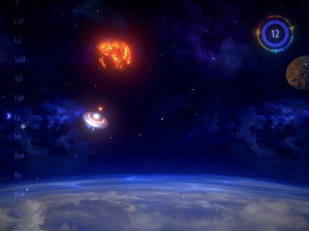 Chantez juste pour esquiver les obstacles dans Sing&Fly, une aventure spatiale surprenante sur iPhone et iPad 2