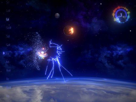 Chantez juste pour esquiver les obstacles dans Sing&Fly, une aventure spatiale surprenante sur iPhone et iPad 3