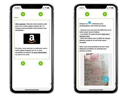 SnapMyEats: l'app iOS qui offre des bons cadeaux Amazon en scannant ses tickets de repas et boissons (partenaire) 4