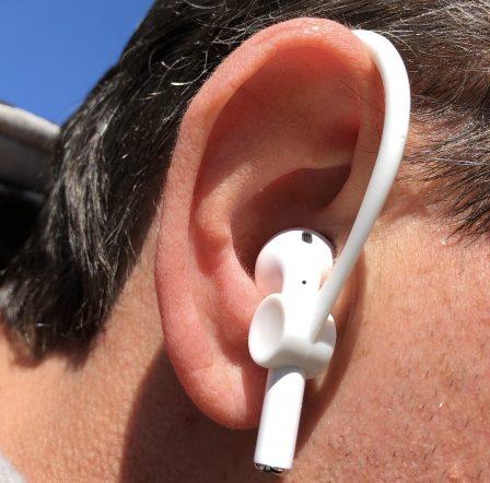 Promo flash / Test des EarHooks, des contours d'oreille pour faire du sport avec ses AirPods sans risque de perte 9