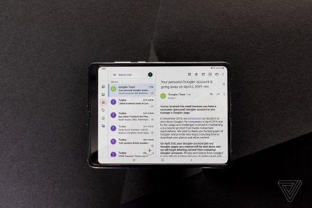Que donne le Samsung pliable au delà de son écran fragile? Test 2
