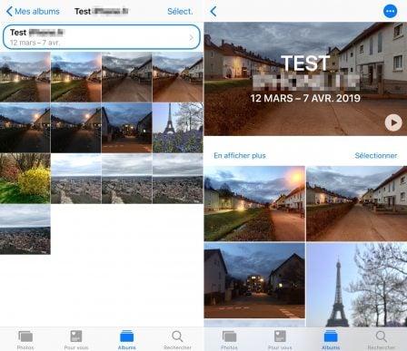 """Tuto iOS: comment créer ses propres vidéos """"Souvenir"""" avec une sélection de photos 5"""