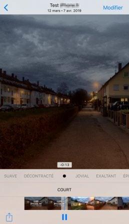 """Tuto iOS: comment créer ses propres vidéos """"Souvenir"""" avec une sélection de photos 6"""