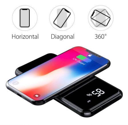 Promo flash sur batterie Qi 10 000 mAh avec recharge sans-fil et afficheur numérique de niveau 2