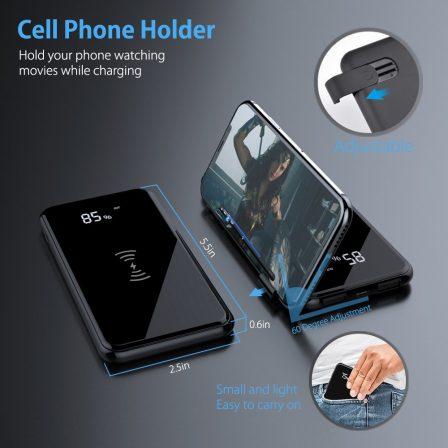 Promo flash sur batterie Qi 10 000 mAh avec recharge sans-fil et afficheur numérique de niveau 4