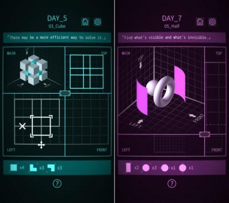 Nous avons résolu les casse-têtes 3D de Viewport, disponible sur , iPhone, iPad 2