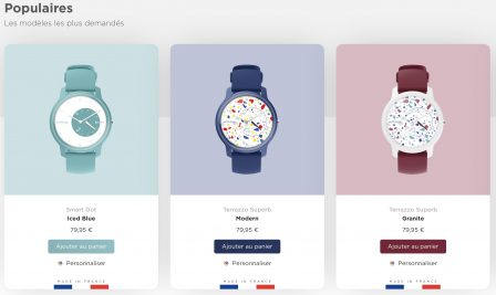 Withings rend ses montres connectées Move personnalisables esthétiquement! 2