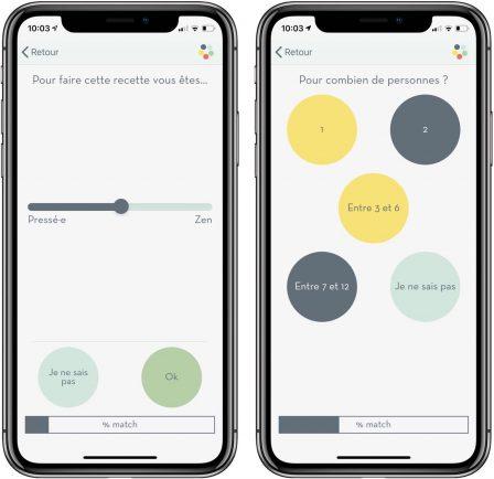 Appetia: tout nouveau moteur d'idées de recettes de cuisine sur iPhone et iPad 3