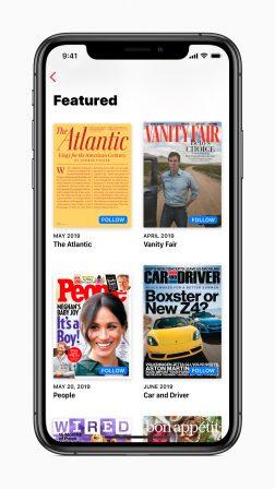 Apple communique sur son service Apple News+: des centaines d'employés mobilisés 3