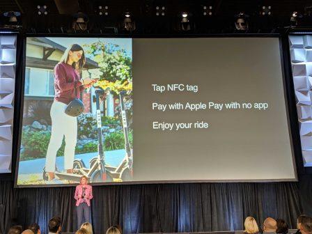 Apple lance le paiement NFC sans appli: pour trottinettes, parking .... et plus 2