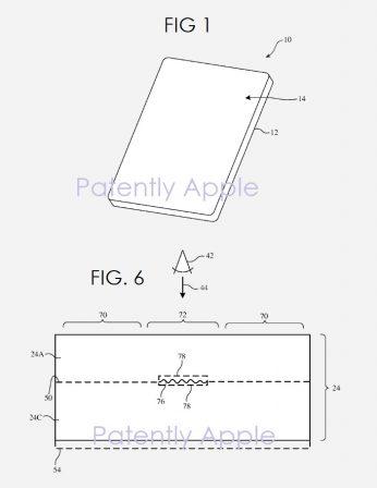 Avant le nouveau dos en verre texturé des iPhone 2019, le brevet correspondant? 2
