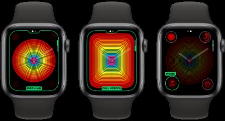 Avec watchOS 5.2.1, des nouveautés pour le cadran arc-en-ciel des Apple Watch 2