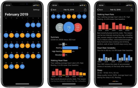 L'app CardioBot analyse le rythme cardiaque mesuré par l'Apple Watch et donne des conseils pour l'améliorer 2