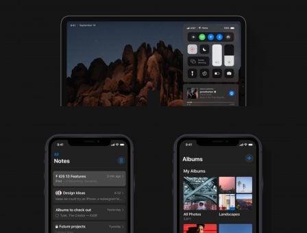 Superbe concept pour tenter de visualiser les changements annoncés pour iOS 13 (et ... plus) 3