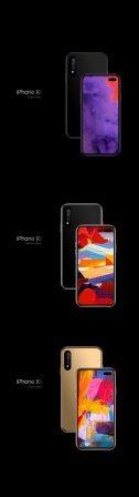 """Et si de prochains iPhone abandonnaient la découpe écran pour un """"trou"""" : concept en images 4"""
