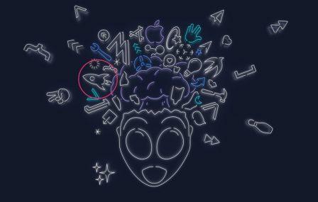Keynote iOS 13 du 3 juin: quelles nouveautés se cachent dans les différentes créations graphiques des invitations? 5