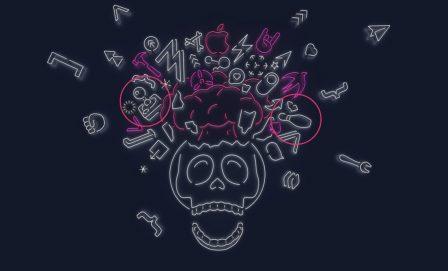 Keynote iOS 13 du 3 juin: quelles nouveautés se cachent dans les différentes créations graphiques des invitations? 3