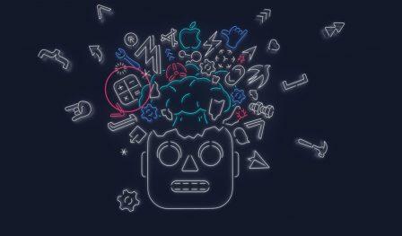 Keynote iOS 13 du 3 juin: quelles nouveautés se cachent dans les différentes créations graphiques des invitations? 4