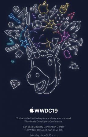 Invitation keynote officialisée: prochaine conférence Apple lundi 3 juin, iOS 13 (et plus) en approche! 2