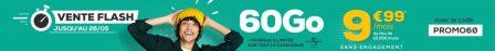 Promo forfait: illimité + 60 Go data et 10 Go Europe à 9,99€, sans limite de durée avec La Poste Mobile 2