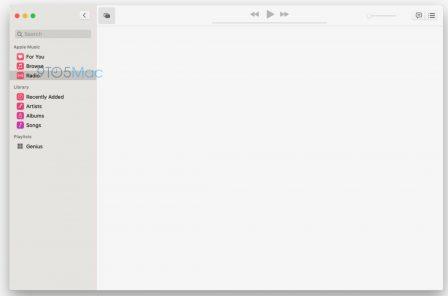 Premières captures d'écran des nouvelles applis Music et TV pour Mac, avant la conférence de lundi 2