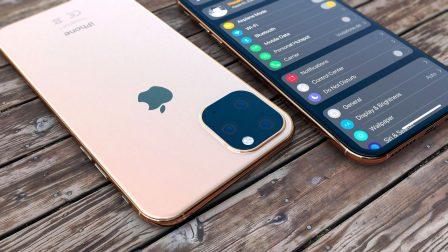Des empreintes d'iPhone 2019 en alu confirment la présence du gros carré photo au dos 3