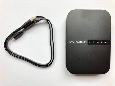En photos avant son test: le tout nouveau FileHub, de RavPower: lecteur de clé USB sans-fil, routeur, transfert de données, etc.... 2