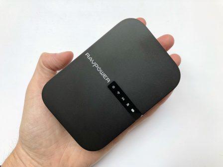 En photos avant son test: le tout nouveau FileHub, de RavPower: lecteur de clé USB sans-fil, routeur, transfert de données, etc.... 8
