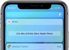 """MàJ - Le widget """"News"""" d'iOS victime d'une panne ... Il tente d'afficher """"Apple News"""" 2"""