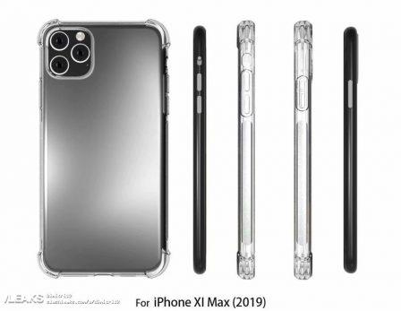 Les iPhone 2019 ont déjà leurs coques, prêtes pour le carré proéminent des objectifs photos au dos 4