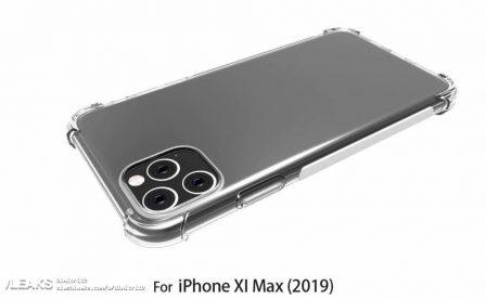 Les iPhone 2019 ont déjà leurs coques, prêtes pour le carré proéminent des objectifs photos au dos 3