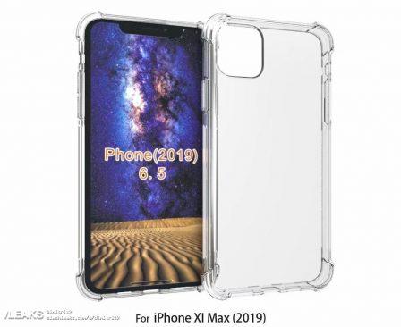 Les iPhone 2019 ont déjà leurs coques, prêtes pour le carré proéminent des objectifs photos au dos 2